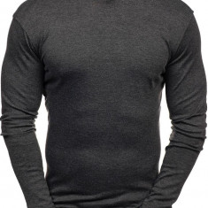 Helancă bărbați gri-antracit Bolf 145347