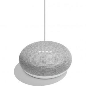 Boxa inteligenta Google Home Mini - Asistent personal inteligent cu control voce, Gri