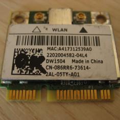 Placa wireless laptop Dell Latitude E6230, DW1504, 086RR6, BCM94313HMG2L