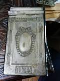 Suport   agenda , metal+granit  , art nouveau