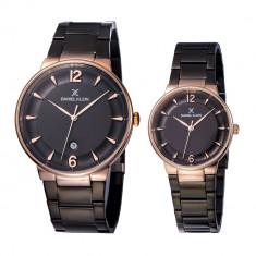 Set ceasuri pentru dama si barbati, Daniel Klein Pair, DK11976-5