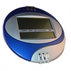 Ceas digital de perete 3885, temperatura, alarma