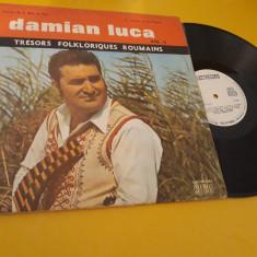 DISC VINIL TRESORS FOLKLORIQUES ROUMAINS DAMIAN LUCA II RAR!!! EPE 01479