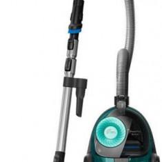 Aspirator fara sac Philips PowerPro Active FC9555/09, 750W, 1.5l (Negru/Verde)