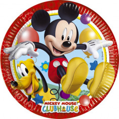 Farfurii Party Mickey Mouse Playful 23cm set 8 buc