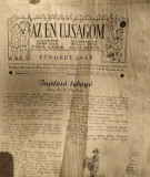 Ziar copii Az Én Újságom anii 1941-1944 colecție