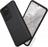 Husa pentru Samsung Galaxy S20 Ultra,Perfect Fit,cu insertii de carbon,negru,NOU