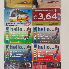 = LOT 29 - AUSTRIA - 10 CARTELE TELEFONICE =