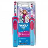 Periuta de dinti electrica pentru copii Braun Stages Power Frozen, +3 ani, D12.513K, Oral B, Oral-B
