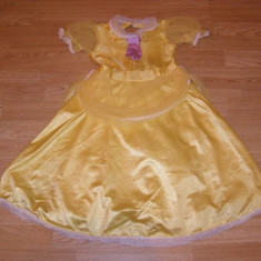costum carnaval serbare belle bella pentru copii de 4-5-6 ani
