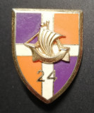 Insigna Regimentala Regiment 24 Infanterie Franța Drago G 3143