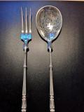 Piese servire desert din argint, Set tacamuri