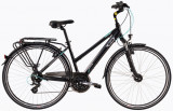 Bicicleta oras Dhs Travel 2858 M negru 28 inch