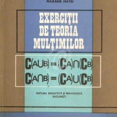 Exercitii de teoria multimilor (1969)