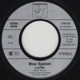 "Blue System - Lucifer (1991, Hansa) Disc vinil single 7"""