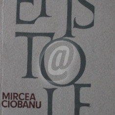 Epistole, vol. 1 (Ciobanu)