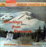 CD Orchestra Paraschiv Oprea Conductor Greetings From Romania, originala