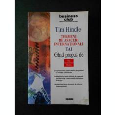 TIM HINDLE - TERMENI DE AFACERI INTERNATIONALI