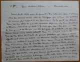 Scrisoare expediata de Cella Delavrancea , din gara Babeni , Valcea