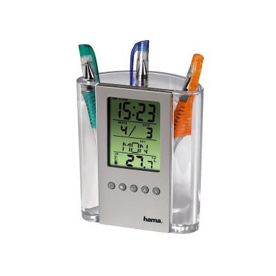 Termometru LCD cu suport de pix foto