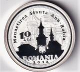 Romania 10 Lei 2012 (Nicolae Steinhardt) Argint 31.1g/999, Proof, KM-New UNC !!!
