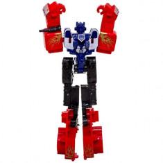 Robot de jucarie, model transformers, multicolor, 14x6x2 cm