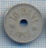 AX 709 MONEDA- ROMANIA - 10 BANI -ANUL 1906 -STAREA CARE SE VEDE