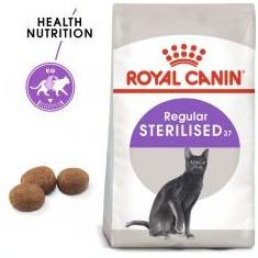 Royal Canin Sterilised 37 - pentru pisici sterilizați, 2kg