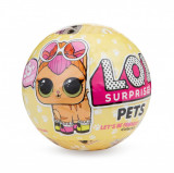 Papusa LOL Surprise Ball - Pets, 7 piese (Seria 3-1B)
