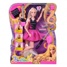 Set de joaca pentru fetite Bettina, 29 cm, accesorii incluse