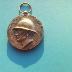 Medalie veche - sapeurs Pompiers-Franta-Rara!!!-32mm.