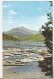 Bnk cp Valea Bistritei - Plute pe drumul de ape la poalele Ceahlaului - uzata, Circulata, Printata