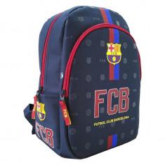 Ghiozdan FC Barcelona cu 2 compartimente 34 cm
