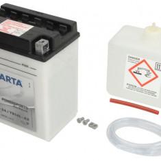 Baterie moto Acid cu intretinere VARTA 12V 14Ah 190A R+ aerisire stanga 136x91x168 Incarcare uscata cu acid