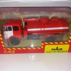 Macheta Cisterna MAZ AC-8 5334 - NASH AVTOPROM scara 1:43