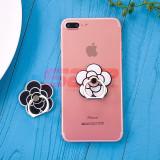 Suport tip inel pentru telefon mobil flower