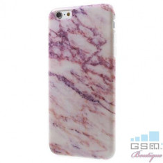 Husa iPhone 6s 6 Marble Pattern Mov, Apple