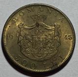 500 Lei 1945, Romania XF/a UNC, Alama