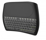 Cumpara ieftin Tastatura Wireless Techstar® Vontar D8, Iluminata, 7 Culori, Android TV, PC, Smart