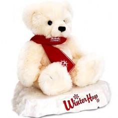 Ursulet de plus cu fular 25 cm