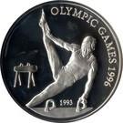 Samoa 10 Tala 1993 (Gymnast) Argint 31.81g /925, Aoc1 KM-97 UNC !!!