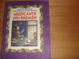 FRATII  GRIMM  -  MUZICANTII  DIN  BREMEN  ( format mai mare, ilustrata color )*