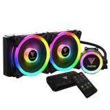 Cooler procesor cu lichid Gamdias Chione M2-240R iluminare RGB