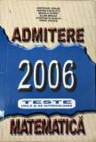 Admitere 2006 matematica
