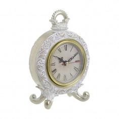 Ceas de masa Antique White 17cm