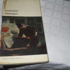 MAESTRII STAMPEI - HENRI FOCILLON,1972. Carte Noua
