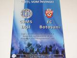 Program meci fotbal CSMS IASI - FC BOTOSANI (29.11.2015)