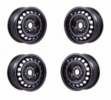 Set 4 Jante otel Ford S Max 2006 2015 6.5Jx16 H2 5x108x63.3 ET50