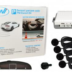 Aproape nou: Senzori parcare auto PNI Escort E4 cu 4 receptori