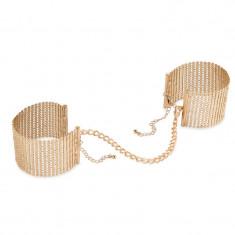 Catuse Desir Metallique Handcuff Gold